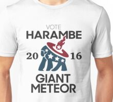 Harambe Giant Meteor 2016 Unisex T-Shirt