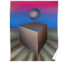 ball und cube Poster