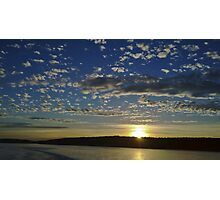 San Juan Island Sunset Photographic Print