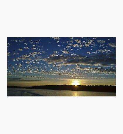 San Juan Island Sunset Photographic Print