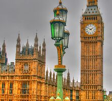 The Tower Of Big Ben by Michael Matthews