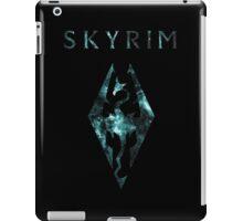 Skyrim Minimalist Nebula Design iPad Case/Skin