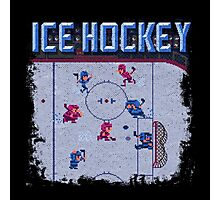 Hockey Ice Photographic Print