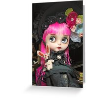 Alice: Blythe Doll Greeting Card