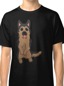 German Shepherd Pupper Classic T-Shirt