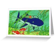 Tin tin / Milou  Greeting Card