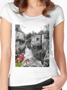 A Bayeau Memory (1) Women's Fitted Scoop T-Shirt