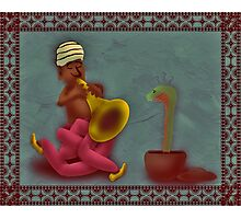The Snake Charmer Photographic Print