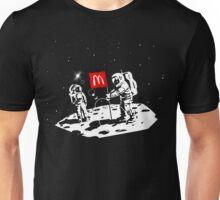 First we take Manhattan, Then we take Moon Unisex T-Shirt