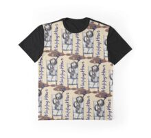 Happy Hour (Large Mosaic - Sand Background) Graphic T-Shirt
