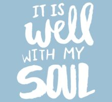 It Is Well With My Soul x Rose Kids Tee