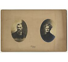 John Aikin & Mary Tweed, Logan County, Ohio Photographic Print