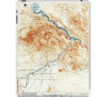USGS TOPO Map Arizona AZ Parker 314875 1911 125000 iPad Case/Skin