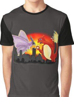 Venomothra Vs. Charzilla Graphic T-Shirt
