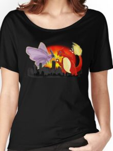 Venomothra Vs. Charzilla Women's Relaxed Fit T-Shirt