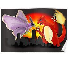 Venomothra Vs. Charzilla Poster