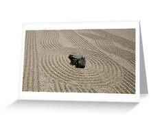 Zen garden Greeting Card