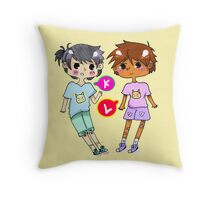 Baby Klance Throw Pillow
