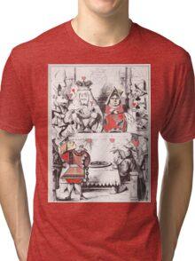 Queen of Hearts Tri-blend T-Shirt