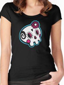Dead Machine 001 Women's Fitted Scoop T-Shirt