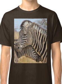 Zebra Love - Wildlife Background from Africa Classic T-Shirt