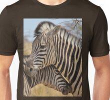 Zebra Love - Wildlife Background from Africa Unisex T-Shirt