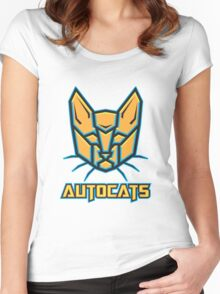Autocats V2 Women's Fitted Scoop T-Shirt