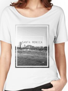 Santa Monica, California Women's Relaxed Fit T-Shirt