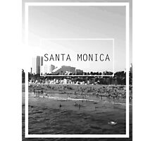 Santa Monica, California Photographic Print