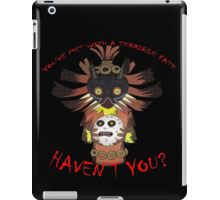 He's got the whole Moon in his hands  iPad Case/Skin