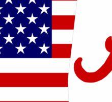 Alabama USA Sticker