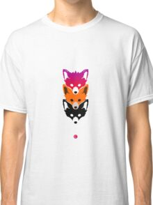 Three Foxes  Classic T-Shirt
