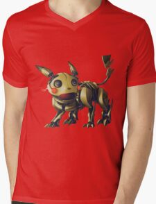 ~ Robotic Pikachu ~ Mens V-Neck T-Shirt