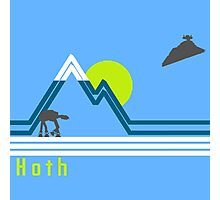 vintage hoth 2  Photographic Print