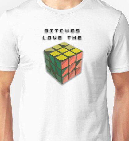 Bitches Love the Rubik's Cube product Unisex T-Shirt