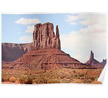 Monument Valley, Mitten, Utah, USA 7 Poster