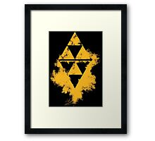 A Link Between Worlds(Halftone) Framed Print