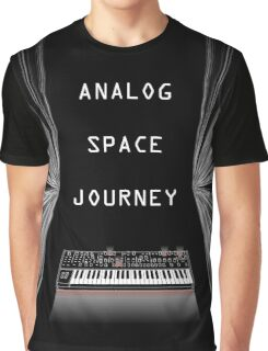 Analog Space Journey Graphic T-Shirt