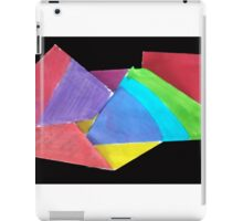 crumpled coloure iPad Case/Skin