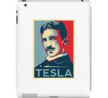 Tesla Poster iPad Case/Skin