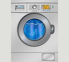 Washing Machine Womens Fitted T-Shirt