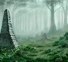 Forest of the Faded Ones by Heriberto Martinez