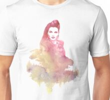 Evil Queen Red Water Color Unisex T-Shirt