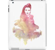 Evil Queen Red Water Color iPad Case/Skin