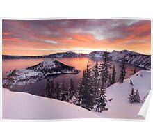 Crater Lake - Oregon - US Poster