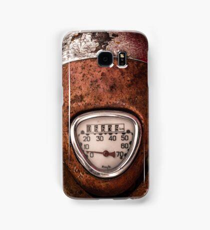 Rustic Speedometer Dial Samsung Galaxy Case/Skin
