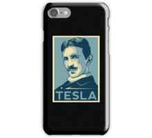 Tesla Poster iPhone Case/Skin