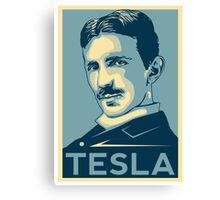 Tesla Poster Canvas Print