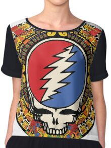 2012 Mayan Steal Your Face - Full Color Chiffon Top