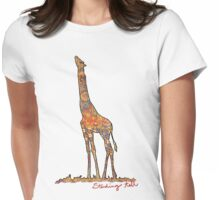 Tall is beautiful Womens Fitted T-Shirt